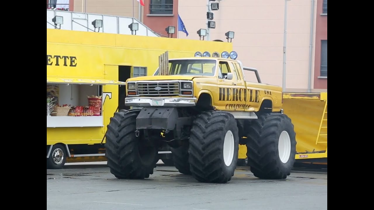 auto plus au volant dun monster truck youtube