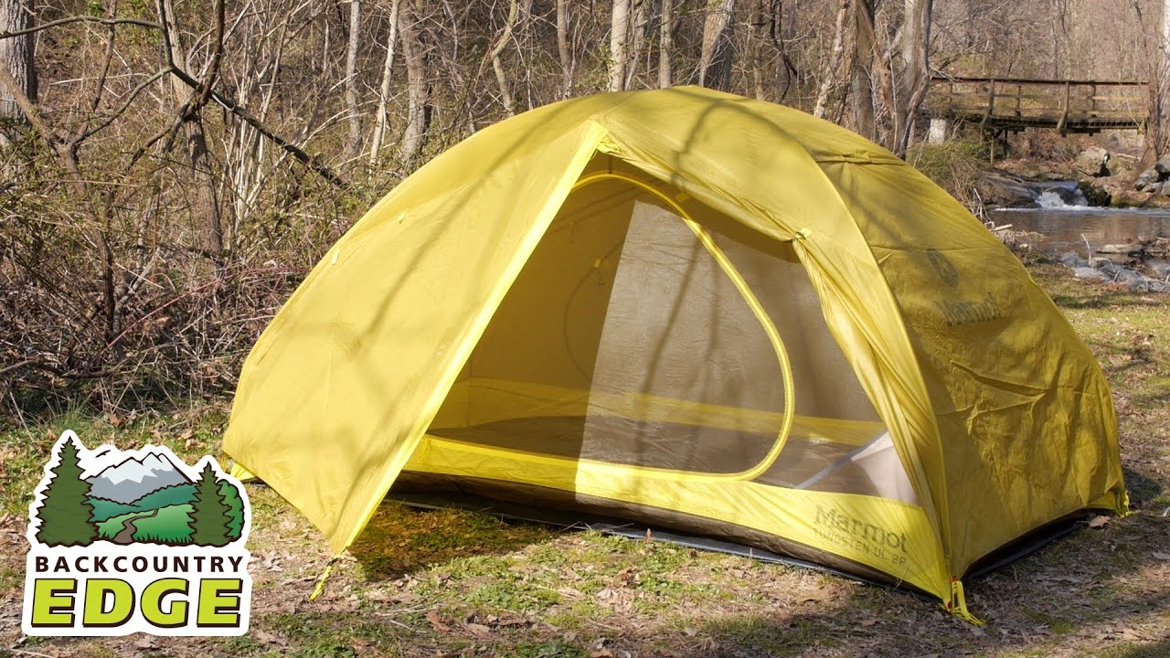 Marmot Tungsten UL 2P Backpacking Tent & Marmot Tungsten UL 2P Backpacking Tent - YouTube