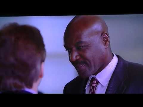 Delroy Lindo.....RIDICULOUS acting...Kidnapped