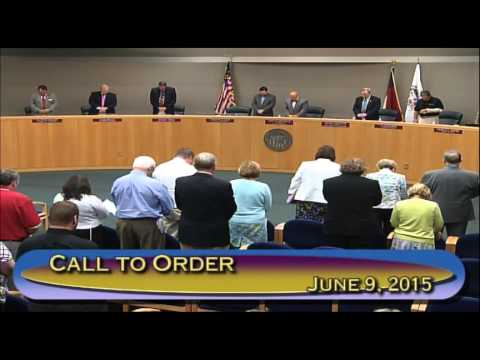 Gaston County Board of Commissioners June 9, 2015