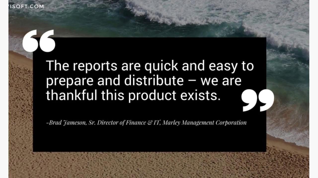 FYISoft - Cloud-Based Financial Reporting | Acumatica Cloud ERP