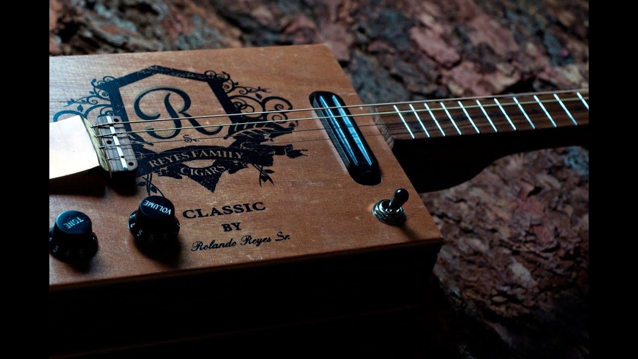 Cigar box guitar своими руками