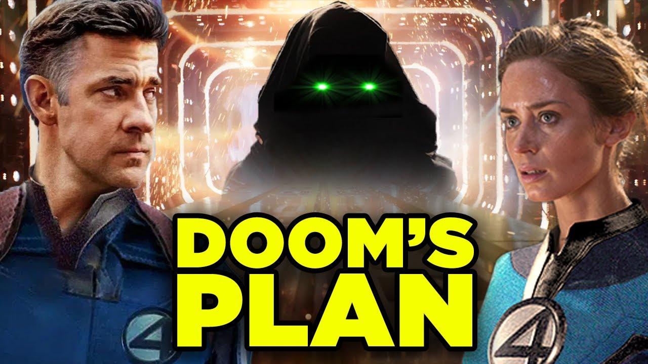 FANTASTIC FOUR MCU Origin Explained! Doctor Doom Plan & Revised Marvel Timeline!