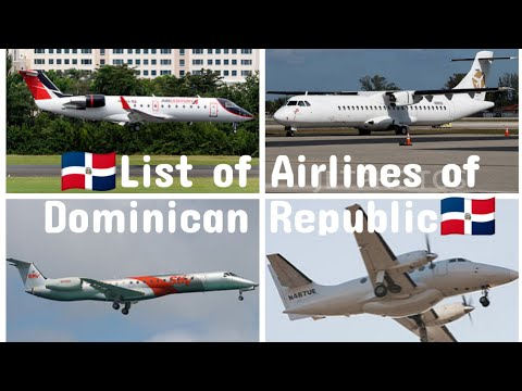 List of Airlines of Dominican Republic | Aviation BD