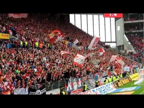 Das Europapokal-Lied in Mainz HD