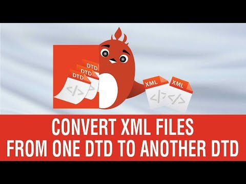 How to Convert files from one DTD to another DTD