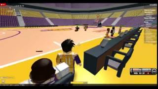 Close ROBLOX JBL Basketball game.