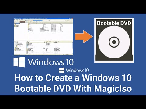 How To Make Windows 10 Bootable DVD With MagicIso:freedownloadl.com  operating systems, iso, video, skype, hyperv, free, download, 10, busi, oem, internet, window, world, tech, pro, updat