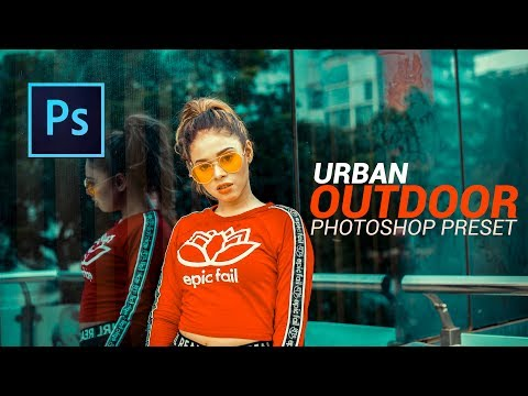 Amazing Color Correction Preset for Urban Outdoor Portrait | Photoshop Tutorial [Free preset] thumbnail