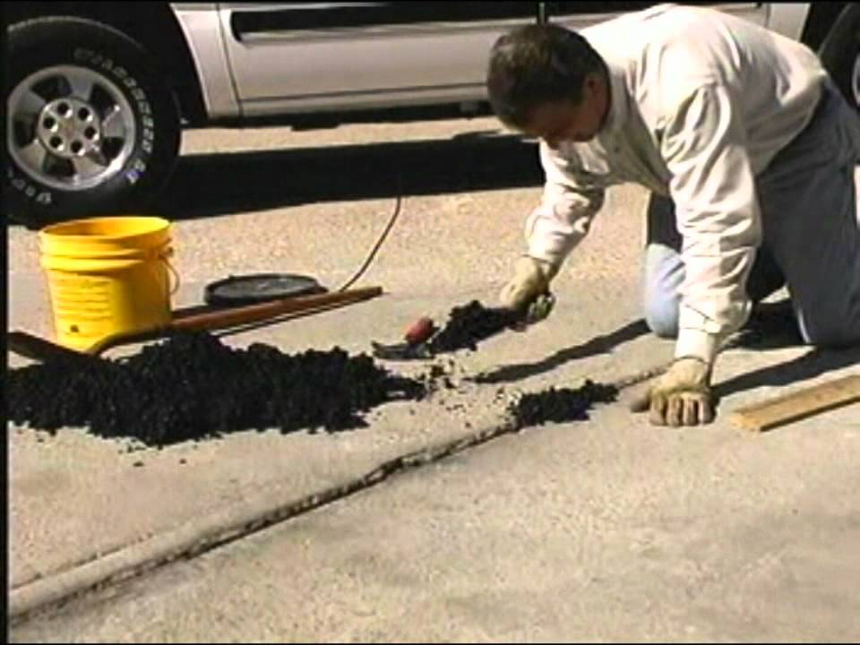 Instant Road Repair Expansion Joint Repair Demonstration