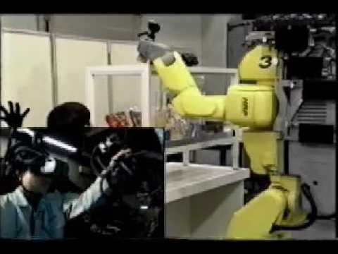 Telexistence in Humanoid Biped Robot   2000