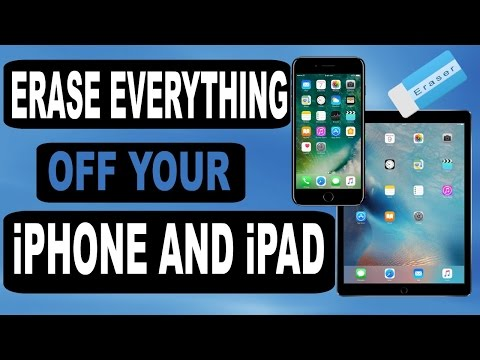 How to Erase Everything Off Your iPhone and iPad - Factory Reset