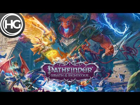 Pathfinder: Wrath of the Righteous Gameplay