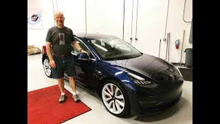 Day 443 Tesla Ruby Model 3 Delivery