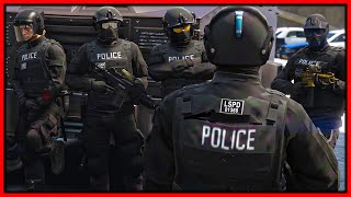 GTA 5 Roleplay - I JOIN SWAT ON HUGE RAID | RedlineRP