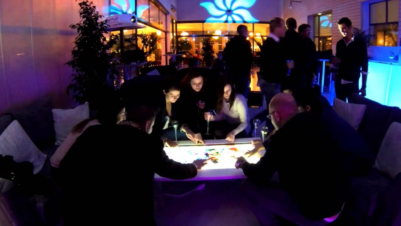 La K2 Table Tactile Developpee Par Kineti Technologies La Technologie Avance Et Vous