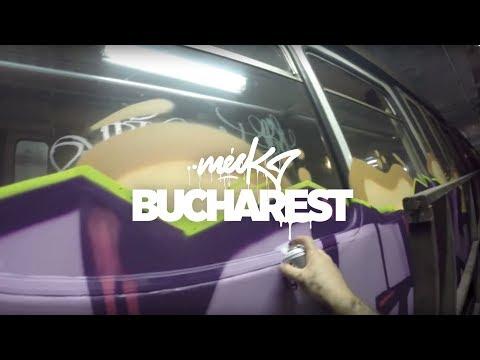 Meck / Metro Graffiti Bucharest - Romania