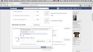 Facebook: Wie ändere ich meinen Beziehungsstatus?
