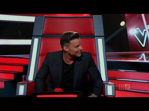 Kaity Dunstan, Brand new key. The Voice-2, Au.