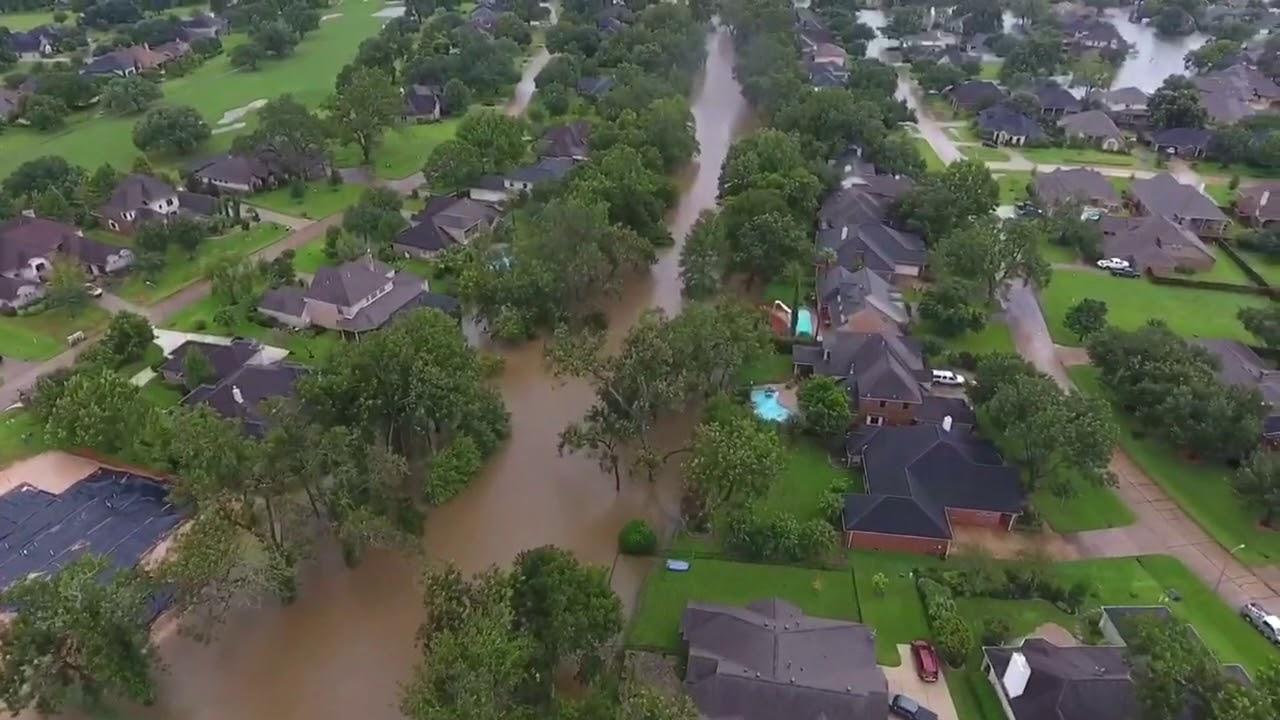 The Woodlands Texas Flooding >> Weston Lakes Hurricane Harvey flood | Doovi