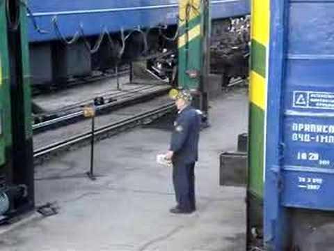 Changing Train Wheels - Bucharest to Chisinau