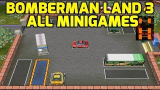 Bomberman Land 3 (PS2) - All Minigames