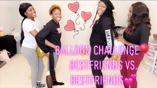Balloon Challenge🎈💕(They Cheated🙄)