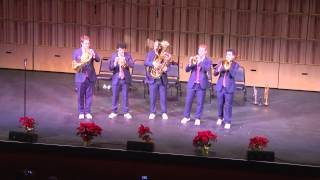 "Canadian Brass Holiday - ""Muy Linda,"" ""Lo, How a Rose E'er Blooming,"" and ""Galliard Battaglia"""