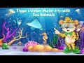 Learn about Sea animals from Tiggu  | Animated Educational Videos for Kids |