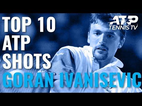 Goran Ivanisevic: Top 10 ATP Shots
