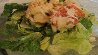 Caesar Salad With Lobster And Avocado Recipe
