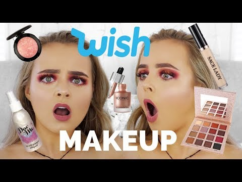 TESTING WISH APP MAKEUP  WAS IT A DISASTER?!?  Conagh Kathleen
