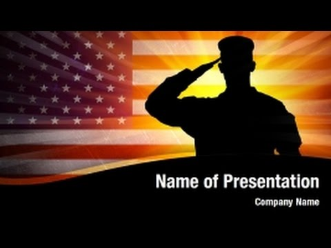 united states army powerpoint video template backgrounds digitalofficepro 01205v youtube. Black Bedroom Furniture Sets. Home Design Ideas