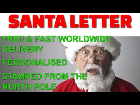 Santa Letter with FREE WORLDWIDE delivery thumbnail