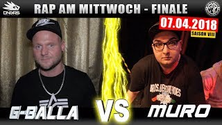 RAP AM MITTWOCH KÖLN: G-BALLA vs MURO 07.04.18 BattleMania Finale (4/4) GERMAN BATTLE