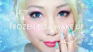 (ENG) 겨울왕국 엘사 메이크업 Frozen Elsa make up tutorial | SSIN