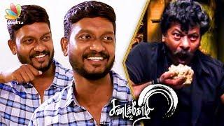 Johnny Hari Krishnan Imitates Rajkiran Eating Style | Interview | Vishal, Sandakozhi 2 Movie