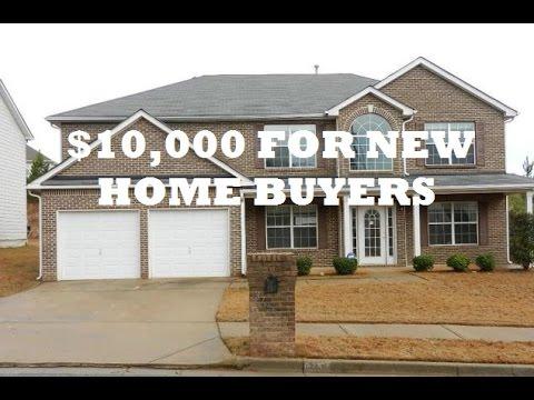 10 000 Buyers Incentive New Home Buyers Augusta Ga Youtube
