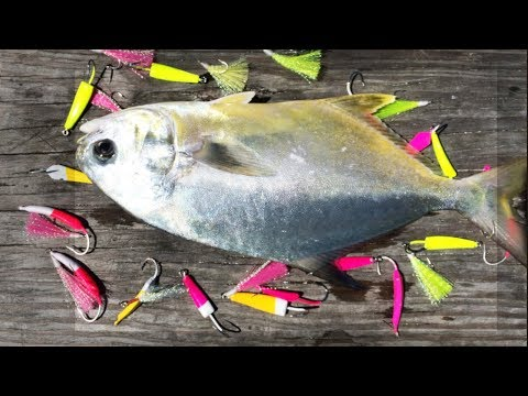 Catching Pompano On Jigs And Teaser Lures