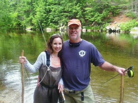 Learn To Fly Fish Pemigewasset River Nh Youtube