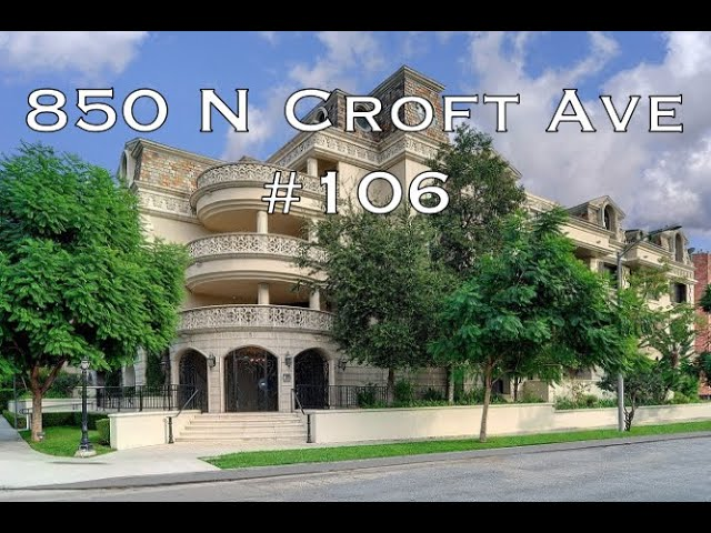 850 N Croft #106, West Hollywood CA 90048