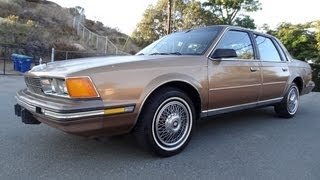 86 Buick Century Limited Sedan 2.5L 4cyl Video For Sale $1650