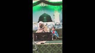 Al-Habib Ali Al-Jifri with his youngest son Sayed Hussein Bin Ali Al-Jifri