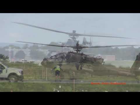 US Army 10th Mountain Division Combat Aviation Brigade Lands At LVIA - 8.29.19