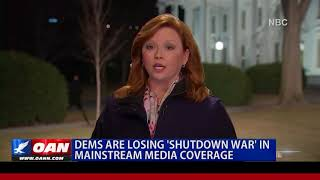 Dems are Losing 'Shutdown War' in Mainstream Media Coverage