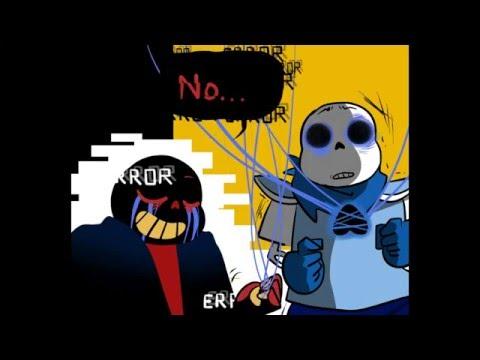 Error!Sans vs UnderSwap [Undertale AU Comic Fandub]