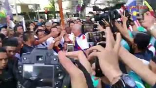 Najib, Rosmah take part in final leg of KL2017 Torch Run