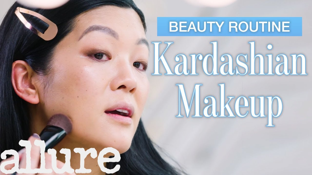 Beauty Expert Tries Kim Kardashian's Everyday Makeup Tutorial in 28 Minutes | Allure
