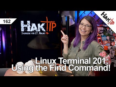 Using the Find Command! - HakTip 162