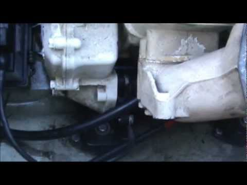 How to remove the starter on a 95 Sea-doo XP - YouTube